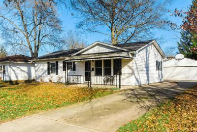 Reynoldsburg Single Family Home Contingent Finance And Inspect: 878 Lancaster Avenue