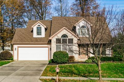 Reynoldsburg Single Family Home Contingent Finance And Inspect: 7850 Oak Valley Road