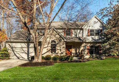 Pickerington Single Family Home Contingent Finance And Inspect: 9461 Timberbank Circle