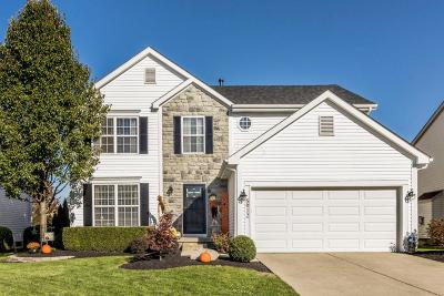 Hilliard Single Family Home Contingent Finance And Inspect: 5912 Collier Hill Drive