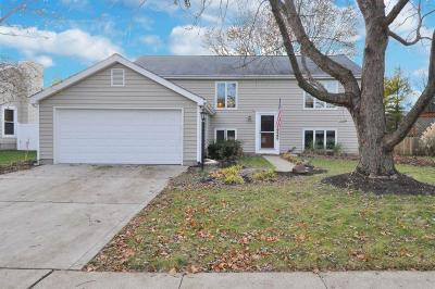 Hilliard Single Family Home For Sale: 4611 Heather Ridge Drive