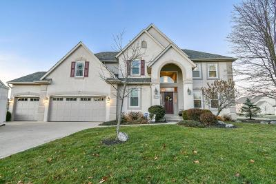 Pickerington Single Family Home Contingent Finance And Inspect: 9074 Cotswold Drive