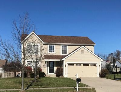 Reynoldsburg Single Family Home Contingent Finance And Inspect: 8542 Firstgate Drive
