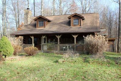 Centerburg Single Family Home Contingent Finance And Inspect: 7030 Tucker Road