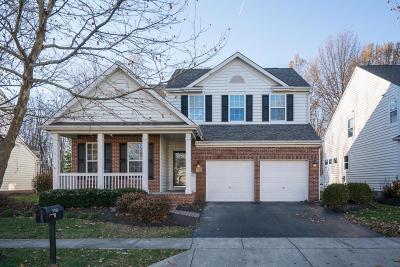 New Albany Single Family Home For Sale: 5755 Triplett Square
