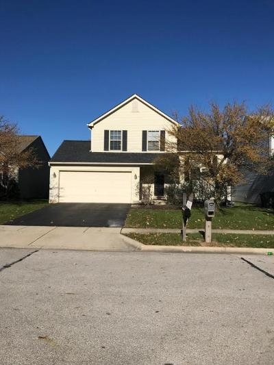 Hilliard Single Family Home Contingent Finance And Inspect: 5070 Gilwood Drive