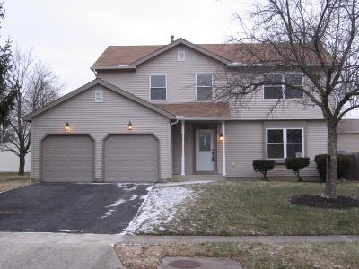 Reynoldsburg Single Family Home Contingent Finance And Inspect: 485 Timbercreek Road