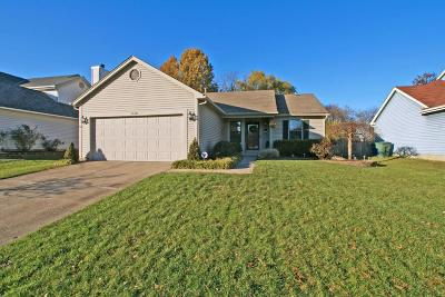 Westerville Single Family Home Contingent Finance And Inspect: 1448 Mentor Drive