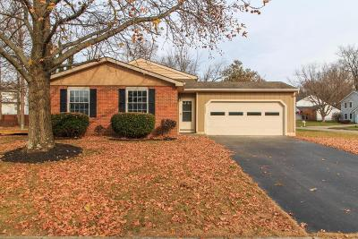 Reynoldsburg Single Family Home Contingent Finance And Inspect: 7386 Terrace View Court