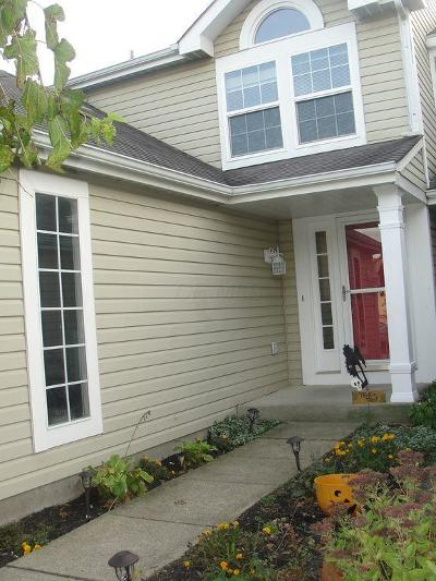 Pickerington Single Family Home Contingent Finance And Inspect: 7581 Bay Hill Drive