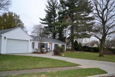 Columbus Single Family Home For Sale: 364 Pineview Drive