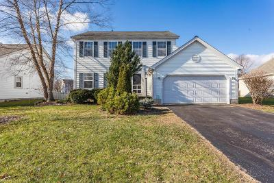 Hilliard Single Family Home Contingent Finance And Inspect: 2861 Mondavi Lane