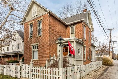 Columbus Single Family Home For Sale: 416 W 3rd Avenue