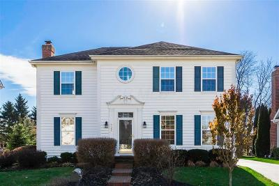 New Albany Single Family Home Closed: 6685 Lower Brook Way