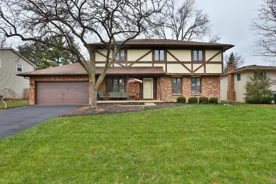 Columbus Single Family Home For Sale: 1644 Crusoe Drive