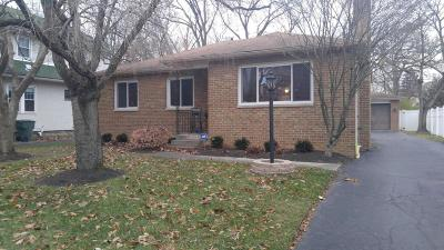 Single Family Home Contingent Finance And Inspect: 434 Blenheim Road