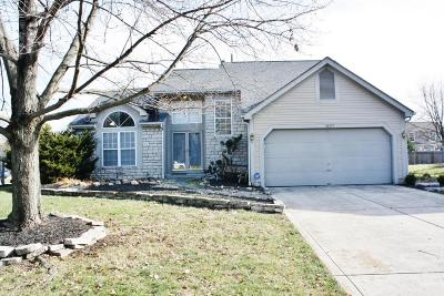 Worthington Single Family Home Contingent Finance And Inspect: 1507 Clovenstone Drive
