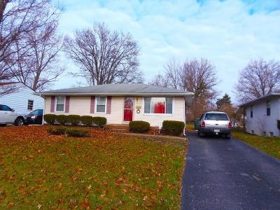 Columbus Single Family Home For Sale: 2110 Case Road