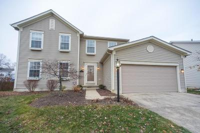Hilliard Single Family Home Contingent Finance And Inspect: 3293 Scioto Farms Drive