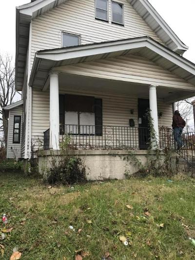 Columbus OH Single Family Home Contingent Finance And Inspect: $49,900