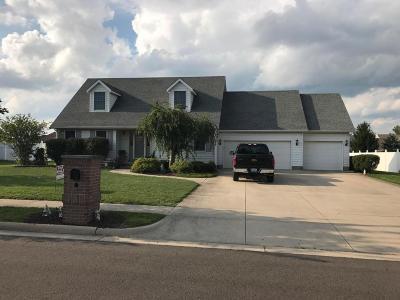 Washington Court House Single Family Home For Sale: 1260 Farmington Lane