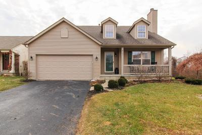 Blacklick Single Family Home Contingent Finance And Inspect: 8197 Crete Lane