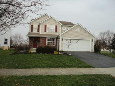 Westerville Single Family Home For Sale: 7601 Totten Springs Drive