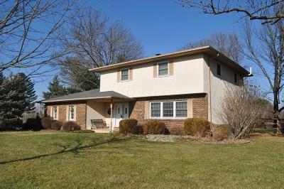 Lancaster Single Family Home Contingent Finance And Inspect: 8210 W Ohio State Lane NW