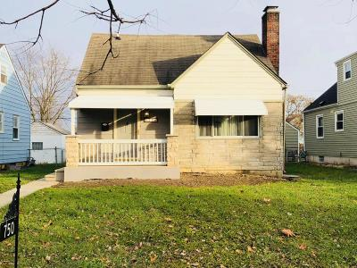 Columbus OH Single Family Home For Sale: $120,000