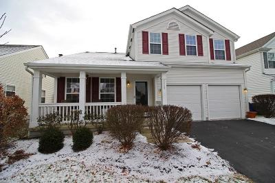 New Albany Single Family Home Contingent Finance And Inspect: 5985 Hilltop Trail Drive