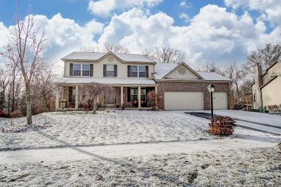 Lewis Center Single Family Home Contingent Finance And Inspect: 2548 Bold Venture Drive
