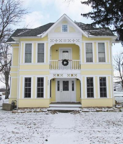 Mount Vernon Single Family Home For Sale: 5424 Granville Road