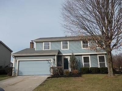 Gahanna Single Family Home Sold: 4420 Big Walnutview Drive