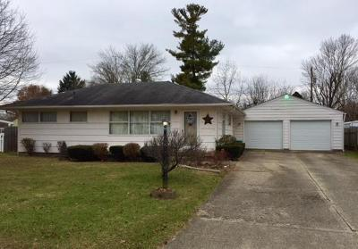 Chillicothe OH Single Family Home For Sale: $99,900