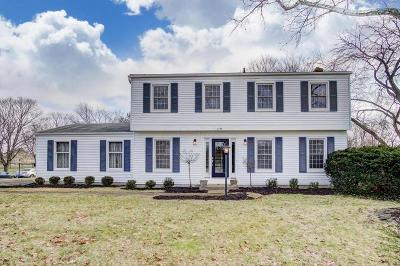 Upper Arlington Single Family Home Contingent Finance And Inspect: 3744 Romnay Road