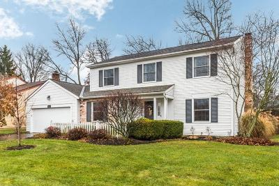 Reynoldsburg Single Family Home Contingent Finance And Inspect: 6377 Hilltop Avenue