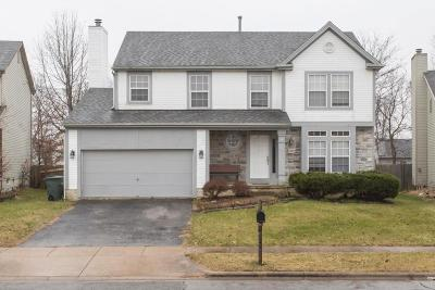 Reynoldsburg Single Family Home Contingent Finance And Inspect: 7249 Bennell Drive
