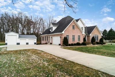 Canal Winchester Single Family Home Contingent Finance And Inspect: 10514 Winchester Road