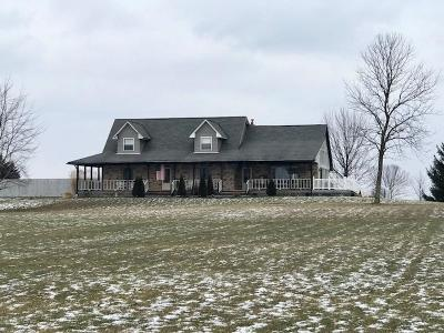 Millersport Single Family Home Contingent Finance And Inspect: 3610 Geiger Road