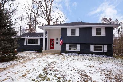 Columbus Single Family Home For Sale: 2843 Wildwood Road