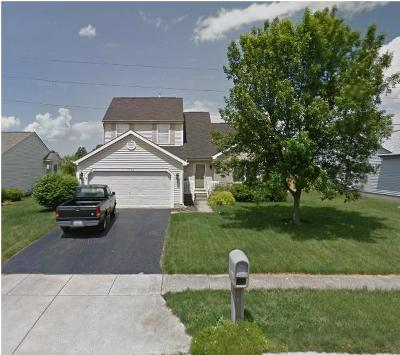 Reynoldsburg Single Family Home Contingent Finance And Inspect: 8794 Ormiston Circle