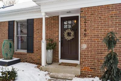 Upper Arlington Single Family Home Contingent Finance And Inspect: 2145 Sandston Road