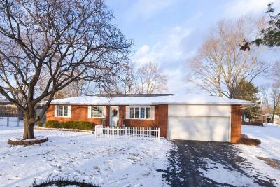 Westerville OH Single Family Home Contingent Finance And Inspect: $215,000
