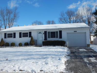 Westerville Single Family Home Contingent Finance And Inspect: 3486 Manila Drive
