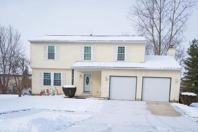 Dublin Single Family Home Contingent Finance And Inspect: 3227 Saybrook Court