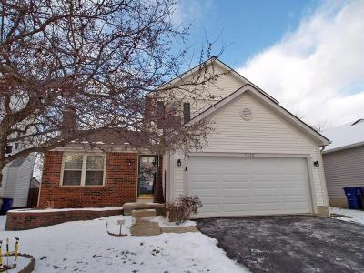 Reynoldsburg Single Family Home Contingent Finance And Inspect: 7220 Dewfall Drive