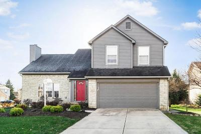 Hilliard Single Family Home Contingent Finance And Inspect: 3955 Thims Court