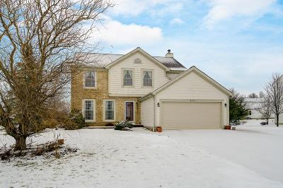 Pickerington Single Family Home Contingent Finance And Inspect: 9372 Harness Place