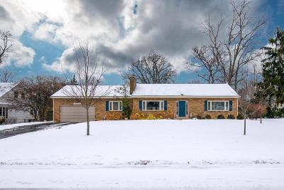 Upper Arlington Single Family Home Contingent Finance And Inspect: 2470 Dorset Road