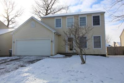 Galloway OH Single Family Home Contingent Finance And Inspect: $169,800